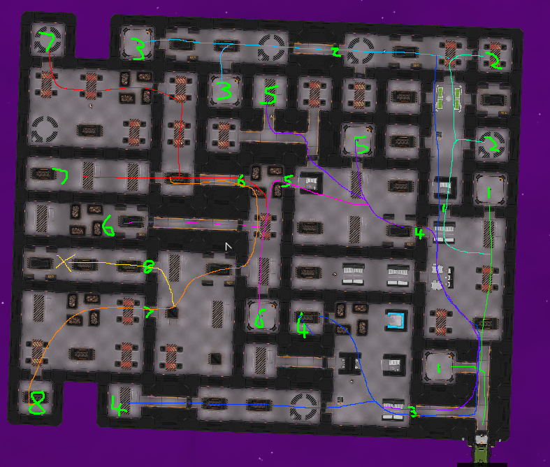 Heat Signature door sec level mockup colour coded